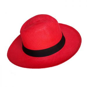 RED XMAS PAJA TOQUILLA HAT