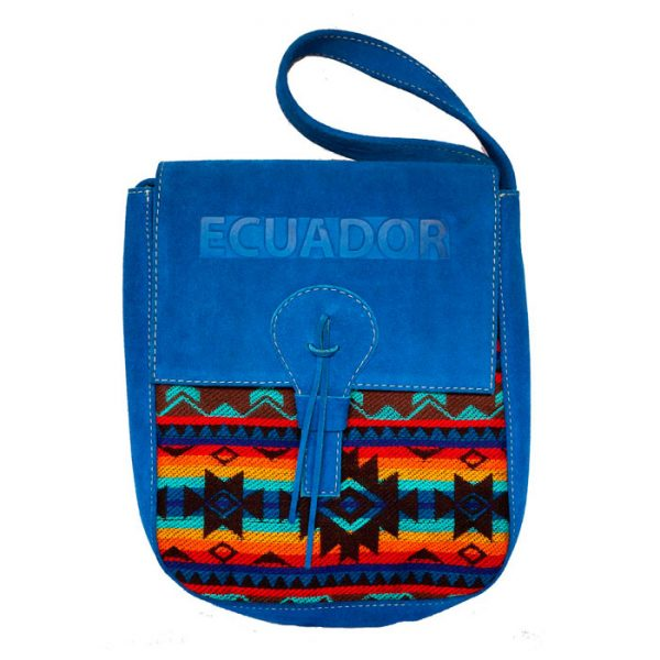 LIGHT BLUE ANDEAN HANDBAG